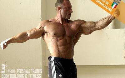 Personal Trainer Bodybuilding & Fitness 3° livello CSEN